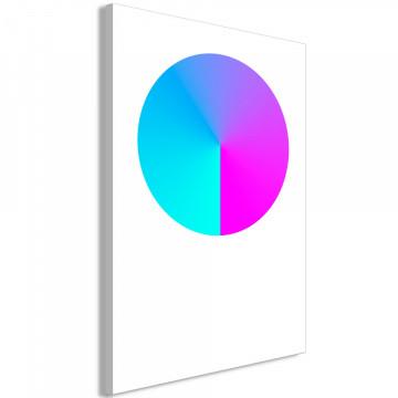 Tablou - Neon Gradient (1 Part) Vertical
