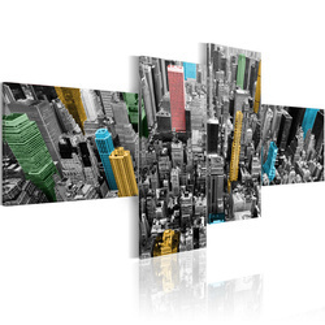 Tablou - New York in a surprising color arrangement