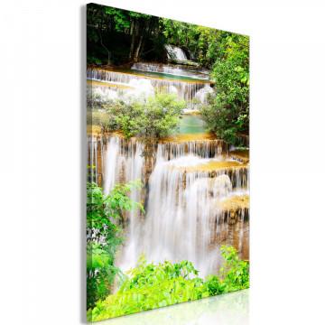 Tablou - Paradise Waterfall (1 Part) Vertical