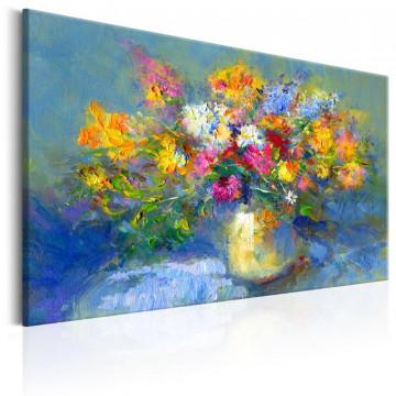 Tablou pictat manual -  Autumn Bouquet