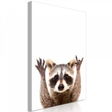 Tablou - Raccoon (1 Part) Vertical