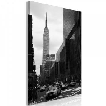Tablou - Street in New York (1 Part) Vertical