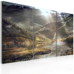 Tablou - The land of mists - triptych