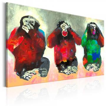 Tablou - Three Wise Monkeys