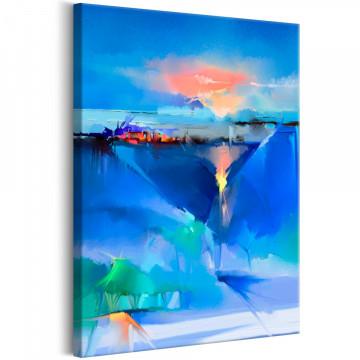 Tablou - Winter Landscape (1 Part) Vertical