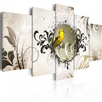 Tablou - Yellow bird
