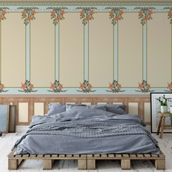 Vintage Design Photo Wallpaper Wall Mural