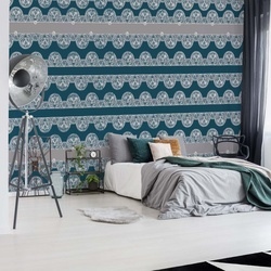 Vintage Lace Pattern Photo Wallpaper Wall Mural