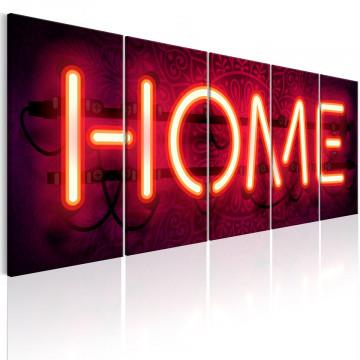 Tablou - Home Neon