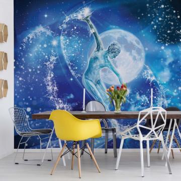 Dancer Moonlight Stars Photo Wallpaper Wall Mural