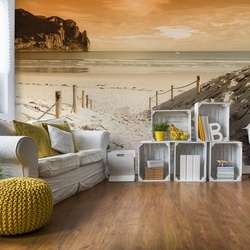 Beach Sea Coastal Photo Wallpaper Wall Mural
