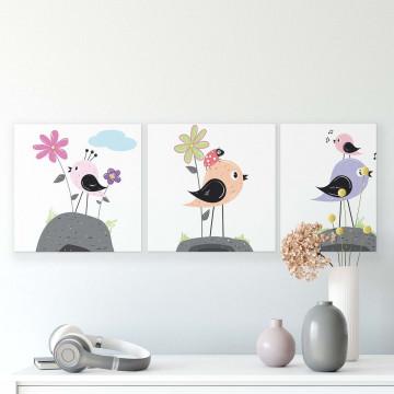 Cartoons & Characters Canvas Photo Print