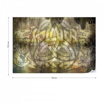 Celtic Design Photo Wallpaper Wall Mural