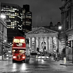 City London Red Bus Photo Wallpaper Wall Mural