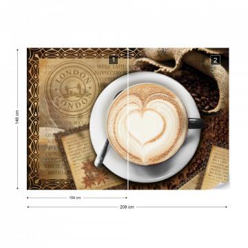 Coffee Design London Photo Wallpaper Wall Mural
