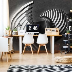 Curved Stages Photo Wallpaper Mural