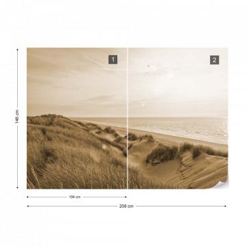 Dune Sunrise Sepia