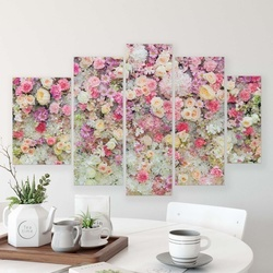 Flowers Canvas Photo Print