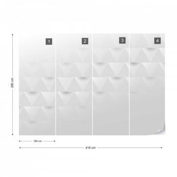 Fototapet 3D – Triunghiuri Minimaliste