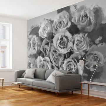 Fototapet - A dozen roses