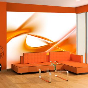 Fototapet - abstract - orange