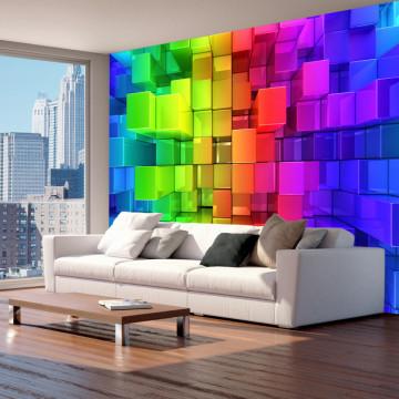 Fototapet autoadeziv - Colour jigsaw