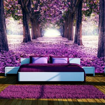 Fototapet autoadeziv - Flower road