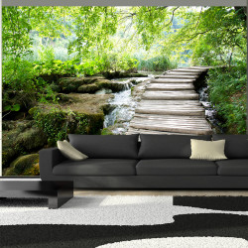 Fototapet autoadeziv - Forest path