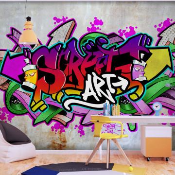 Fototapet autoadeziv - Street Classic (Colourful)