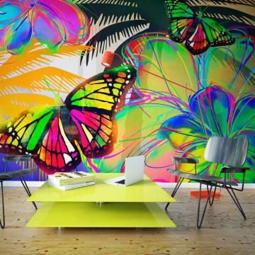 Fototapet - Butterflies in the stomach