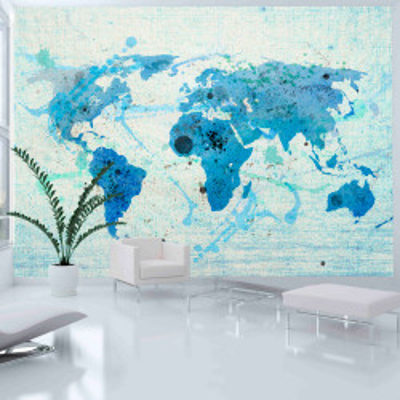 Fototapet - Cruising and sailing - The World map