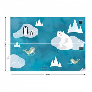 Fototapet - Fereastra către Polul Nord