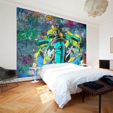 Fototapet - Graffiti maker