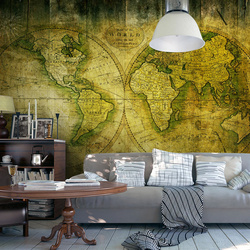 Fototapet - Journey through the Old World