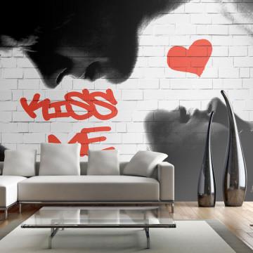 Fototapet - Kiss me
