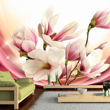 Fototapet -  Magnolia In Rays