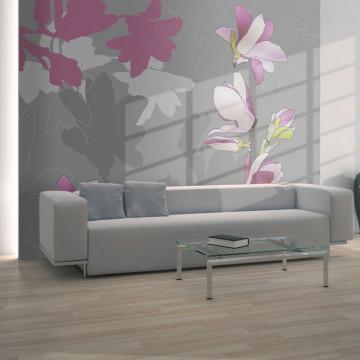 Fototapet - magnolia (pink)