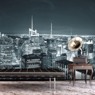 Fototapet - New York City nightlife