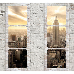 Fototapet - New York: view from the window