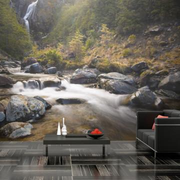 Fototapet - Ohakune - Waterfalls in New Zealand