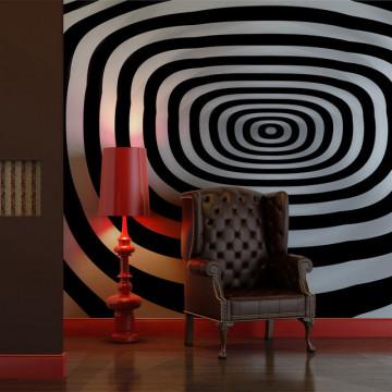 Fototapet - Optical art, art and visual illusion