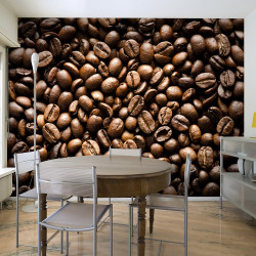 Fototapet - Roasted coffee beans
