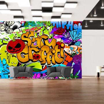 Fototapet - Scary graffiti