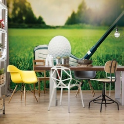 Golf Photo Wallpaper Wall Mural
