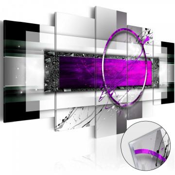 Imagine pe sticlă acrilică - Violet Rim [Glass]