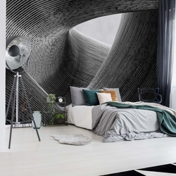 Lines Photo Wallpaper Mural