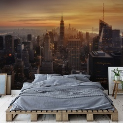 Manhattan's Light Photo Wallpaper Mural