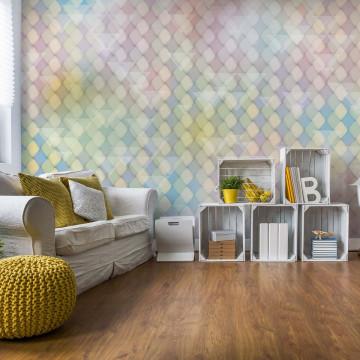 Modern Multicoloured Design Photo Wallpaper Wall Mural