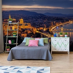 Panorama Of Budapest Photo Wallpaper Mural