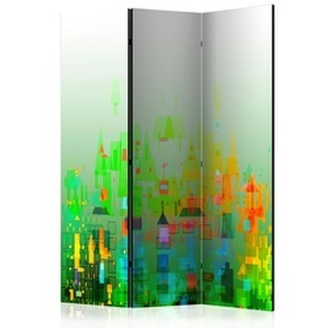 Paravan - Abstract City [Room Dividers]